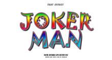 Jokerman Text Effect Design Vector