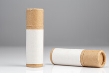 Zero Waste Lipstick In Paper Packaging For Make Up