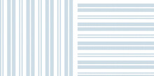 Textured Stripes Patterns In Blue And White. Simple Herringbone Backgrounds For Dress, Shirt, Or Other Modern Menswear And Womenswear Spring Summer Fashion Textile Print.