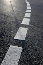 Fahrbahnmarkierung - Straße - 0004