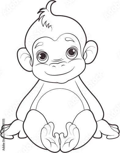 Baby monkey #409549315