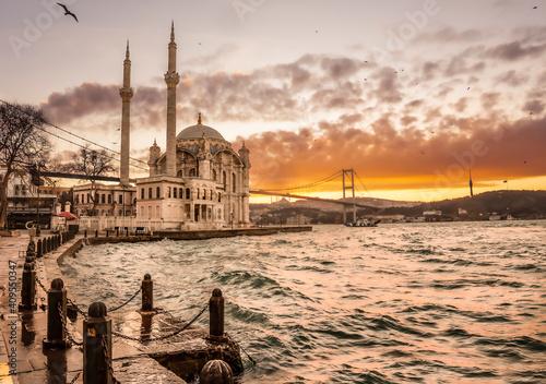 Obraz na plátně Beautiful Istanbul landscape
