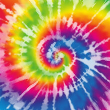 Tie Dye Shirt Abstract Rainbow Spiral Pattern Background