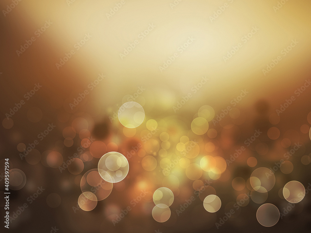 Fototapeta Light rays bokeh illustration.Colorful and abstract.