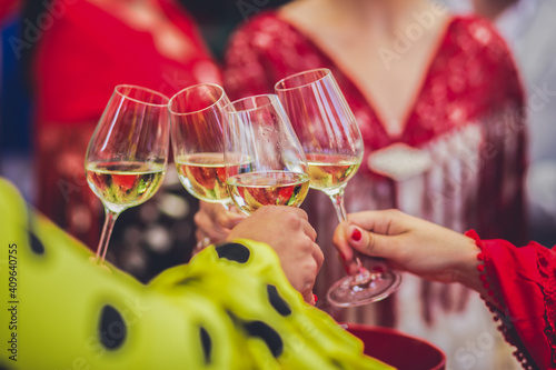 Fototapeta glass of wine