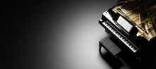 Classic Grand Piano Keyboard