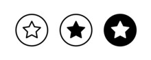 Loyalty Star Icon. Bonus Points. Discount Program Symbol. Quality Element. First Place, Product Rating, Winner, Ranking, Favorite, Best Choice, Review Icons Button, Vector, Sign, Logo, Illustration