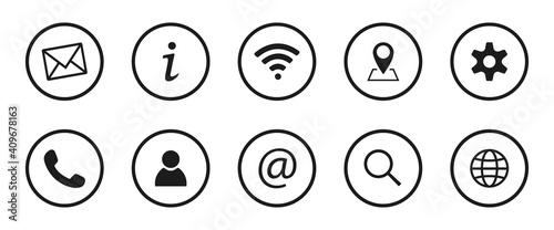 Fotografie, Obraz Collection of Business symbols