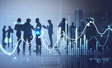 Businesspeople Working And Researching The Analytics To Predict