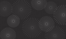 Abstract Vector Background Textured Circles Dark Neutral Brown Colors