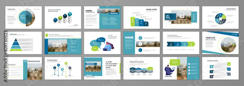 Fotografia Business presentation slides templates
