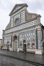 Church Of Santa Maria Novella (New St. Mary) - Gothic-style Church Of The Dominicans In Florence, Completed In 1350. Florence, Italy.