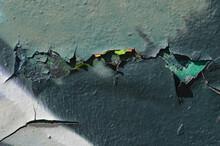Cracks, Graffiti, Peeling