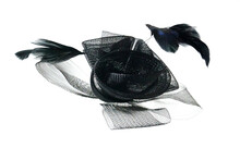 Decorative Fashionable Mesh Hat For Woman