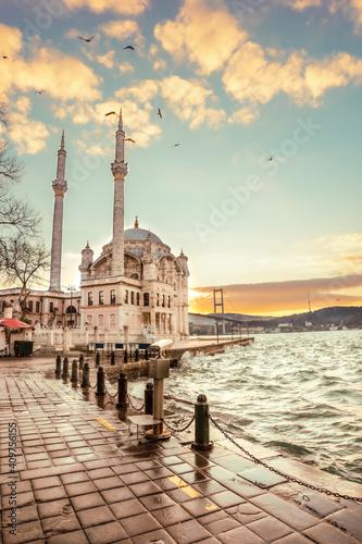 Canvastavla Beautiful Istanbul landscape