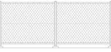 金網 フェンス シームレスイメージ