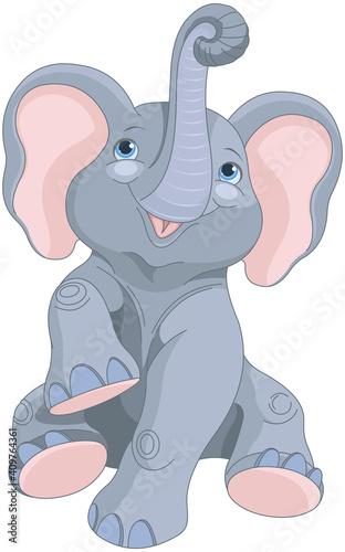 Baby Elephant #409764361