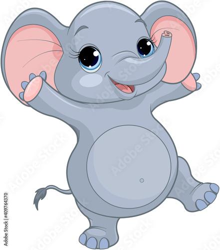 Baby Elephant #409764370