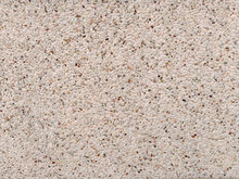 Tiny Pebbles On White Wall, Close Lightly Pebble Background Surface