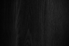 Black Wooden Wall With Texture Background
