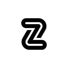 Z Initial Logo Design Vector Template