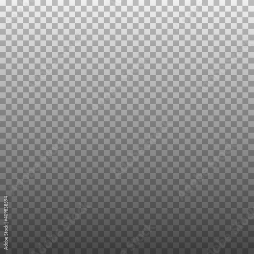 Square transparent background with gradient effect. Vector