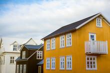 Traditional Icelandic Corrugated Iron Houses