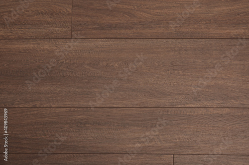 Obraz Clean wooden laminate as background, top view. Floor covering - fototapety do salonu