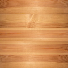 Wooden Texture Background, Pine Board, Spruce Table With Knots. Square Banner. Top View Light Wood Textured Surface With Natural Pattern. Timber Backdrop. Rustic Craft Workbench.