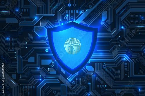 Fotografie, Obraz Cyber security