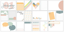 Project Life Set Of Cards Scrapbooking English