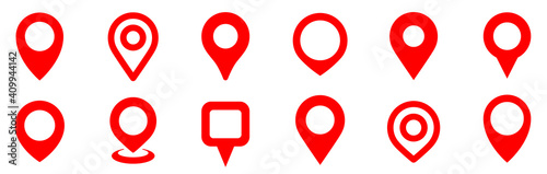 Photographie Simple map pin