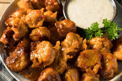 Fotomural Homemade Vegetarian Vegan Buffalo Chicken Wings