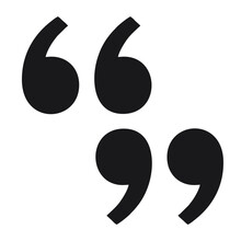 Vector Image Of Quotation Marks