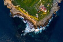 Tarifa In Spanien Aus Der Luft   Luftbilder Von Tarifa In Spanien