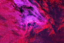 A Beautiful Colored Galaxy. Elements Of This Image Were Furnished By NASA.