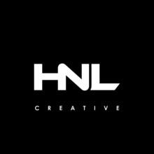 HNL Letter Initial Logo Design Template Vector Illustration