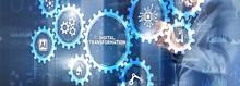 Digital Transformation Disruption Digitalisation Innovation Technology Concept.