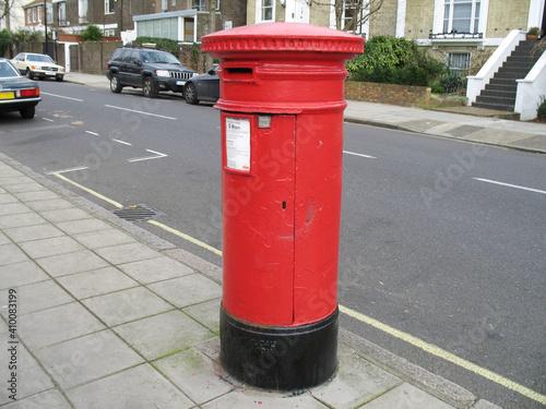 Fototapeta royal mail  postbox