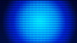 canvas print picture - Dot  white blue pattern screen led light gradient texture background. Abstract  technology big data digital background. 3d rendering.