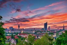 Panorama Von Leipzig, Sachsen, Deutschland