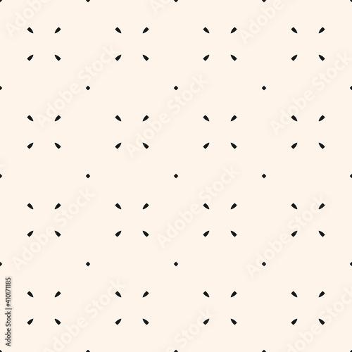 minimalistyczny-wektor-wzor-prosta-minimalna-geometryczna-tekstura-streszczenie-czarno-biale-tlo-z-malymi-kwiatowymi-ksztaltami-male-kropki-subtelny-powtarzalny-projekt-dekoracji-nadruku-okladki-tapet