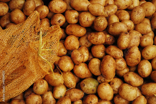 Fototapeta Ziemniaki na bazarze obraz