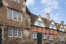 The Historic And Well Preserved Village Of Lacock, In County Wiltshire, England Is Popular Tourist Stop.