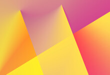 Purple Yellow And Orange Sunrise Strong Lights Gradient