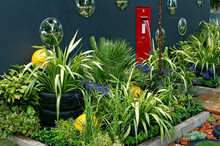 A Quiet Refuge Using Recycled Materials To Create An Urban Garden