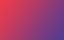 Solid Color Gradient Background Of Red And Pink Tones.