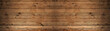 canvas print picture - old brown rustic dark wooden texture - wood timber background panorama long banner