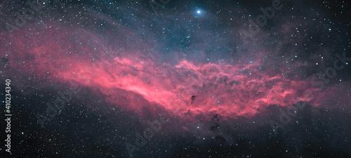Fotografia, Obraz Space nebula background
