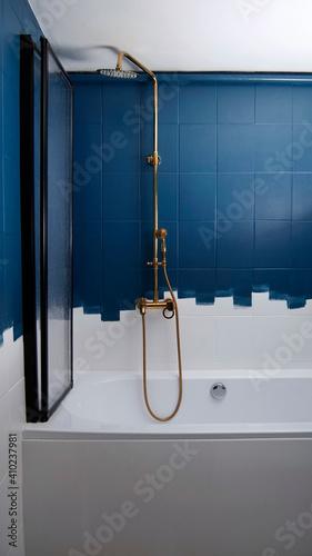 Fototapeta Złoty prysznic obraz